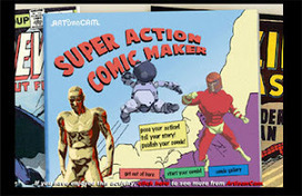 Super Action Comic Maker: Generador de cómic online | Tastets de TIC I TAC | Scoop.it