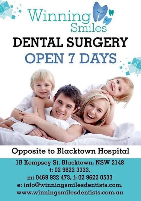 Dentist opens 7 Days - Blacktown - Parramatta | dentistry | Scoop.it