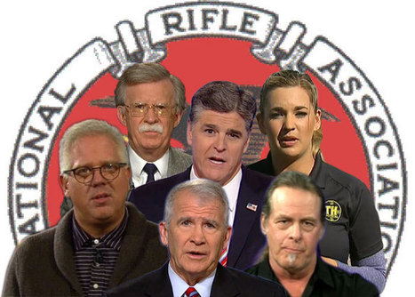 NRA Features Conservative Media Figures Known For Violent Rhetoric, Baseless Conspiracies At Annual Meeting | Why Conservatives Love Guns So Very, Very, VERY Much? | Scoop.it
