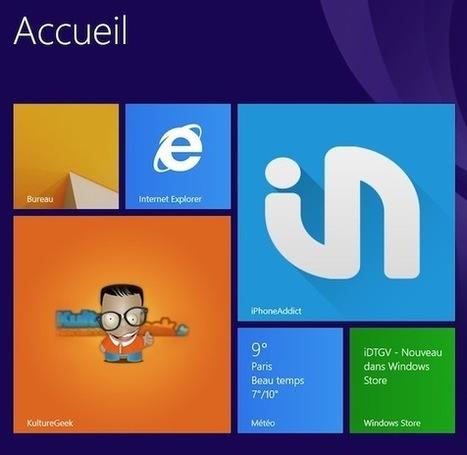Tutoriel : Créer une tuile Windows 8 pour son site avec notifications   Mooc, Formation & Co   Scoop.it
