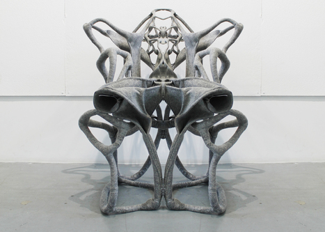 Fabrick felt composite can be moulded into self-supporting chairs | DigitAG& journal | Scoop.it