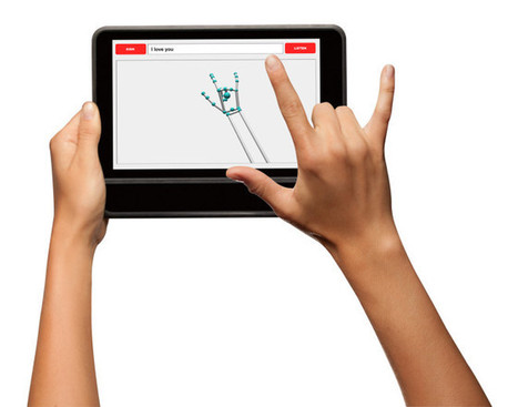 New Tablet Case Recognizes Sign Language and Translates It Into Text | WIRED | Interpreting, translation, marketing, ergonomics. | Scoop.it