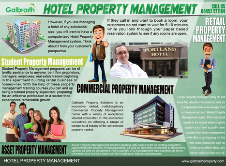 Hotel Property Management. | Student Property Management | Scoop.it