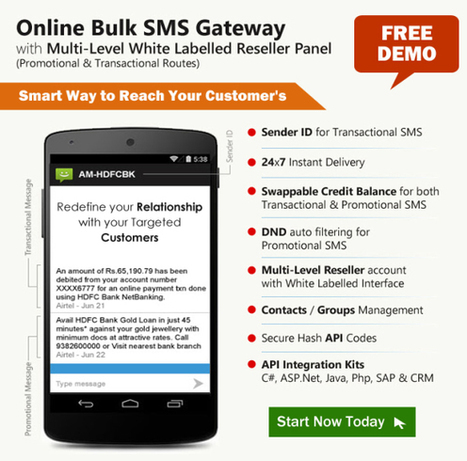 Get more customers from our Bulk SMS Marketing Services | Travel portal development company in India | Scoop.it