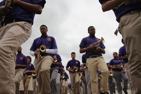 At A New Orleans High School, Marching Band Is A Lifeline For Kids - NPR | Innovative Secondary Education | Scoop.it