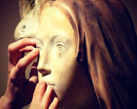 Touch faces, bodies, gestures, expressions, discover volumes and perspective with your own hands   Le Marche another Italy   Scoop.it