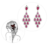 Quick & Easy Guide: Earrings to Suit Every Hairstyle   Online Jewellery Shopping   Scoop.it