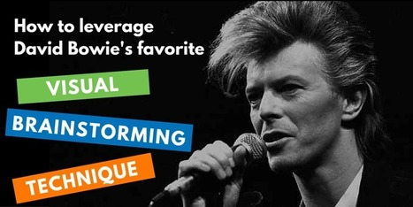 Leverage David Bowie's favorite visual brainstorming technique | Graphic Coaching | Scoop.it