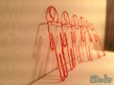 World's First 3D Printing Pen Makes 3D Sculptures As You Write Or Draw | Digital-News on Scoop.it today | Scoop.it