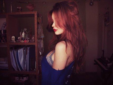 red hair girl wallpaper | wallpapers | Scoop.it