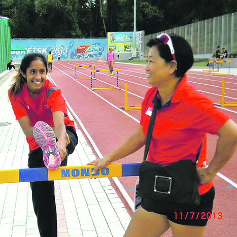 Shanti to take on 4x400m relay next - TODAYonline | Malaysian Youth Scene | Scoop.it
