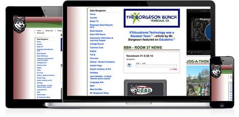 How To Create An Effective Classroom Website - Edudemic   InforSeminario   Scoop.it
