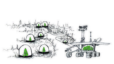 Astrogarden Rover: How Can We Design a Garden for Mars? | Environment on GOOD | Vertical Farm - Food Factory | Scoop.it