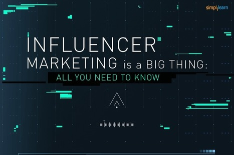Influencer Marketing Is a Big Thing - Visual Contenting | Visual Marketing & Social Media | Scoop.it