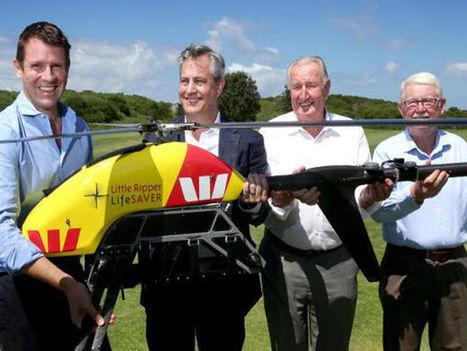 Un drone chasseur de requins en Australie   Drone   Scoop.it