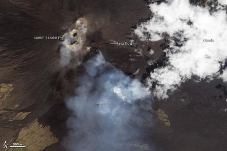 Etna's Eruptions Keep Going, and Going… | Geospatial | Scoop.it