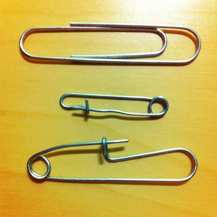 Paperclip Safety Pins | CMYBacon | EDC Ideas | Scoop.it