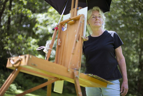 Easels in Frederick - Frederick News Post (subscription) | plein air painting | Scoop.it