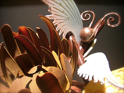 Abstract Chocolate Sculptures | Just Chocolate!!! | Scoop.it