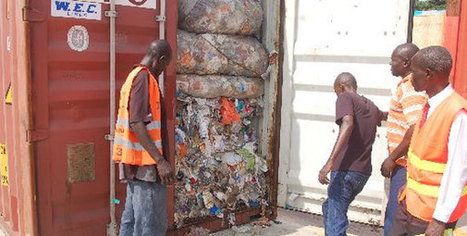 Toxic waste container shipped back to UK | Waste Management | Scoop.it