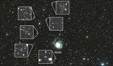 Astronomers discover 7 new galaxies using a new type of telescope made by stitching together telephoto lenses | Amazing Science | Scoop.it