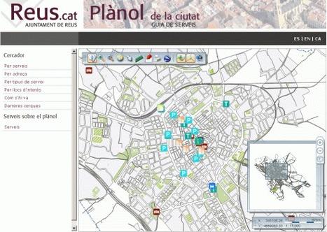 Plànol ciutat de Reus | TIG | Scoop.it