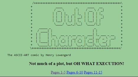 Out Of Character | ASCII Art | Scoop.it