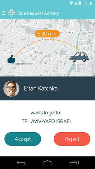 This Israeli Ride-Sharing App Is the Utopian, Hippie Uber | Peer2Politics | Scoop.it