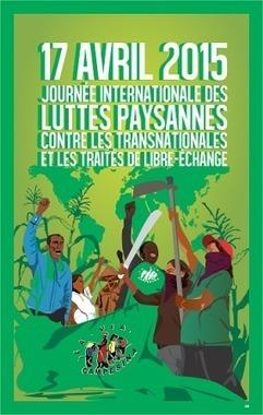 17 avril: journée de la lutte paysanne | C'était un petit jardin... | Scoop.it