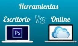 Herramientas de diseño online vs. herramientas de Escritorio   HERRAMIENTAS Y RECURSOS DE APRENDIZAJE ONLINE   Scoop.it