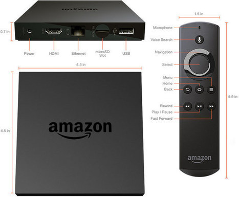 Amazon Fire TV 2015 Features Mediatek MT8173 Cortex A72 & A53 Processor | Embedded Systems News | Scoop.it
