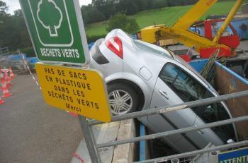 Rodez. Tri sélectif : la voiture passe à la poubelle | Mais n'importe quoi ! | Scoop.it