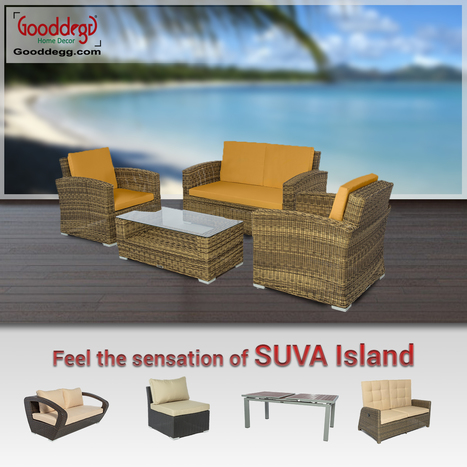 Buy this outdoor wicker furniture and feel the sensation of SUVA Island at your home | Home Decor (Wicker Furniture) | Scoop.it