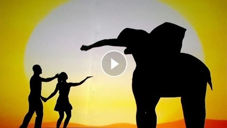 Amazing Shadow Theater Performance On Unique Moments In Life | Amazing Videos | Scoop.it