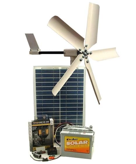 Présentation du Kit hybride solaire et éolien | Le flux d'Infogreen.lu | Scoop.it