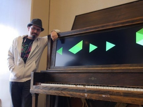Jamming on a Modern Day Player Piano   Arduino, Netduino, Rasperry Pi!   Scoop.it