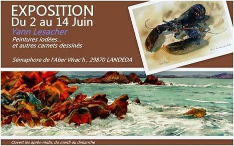 à Landéda – Exposition Yann Lesacher – du 2 au 14 juin 2015   Voyages et Gastronomie depuis la Bretagne vers d'autres terroirs   Scoop.it