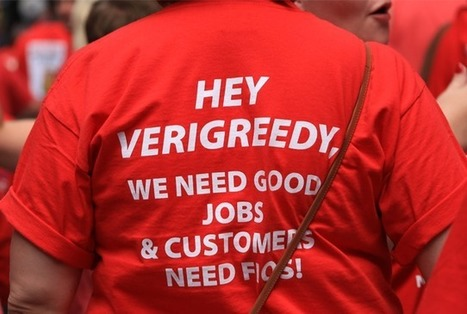 Five Reasons to Care About Verizon Contract Negotiations | Diana Rosen | Jobs with Justice | Surfing the Broadband Bit Stream | Scoop.it