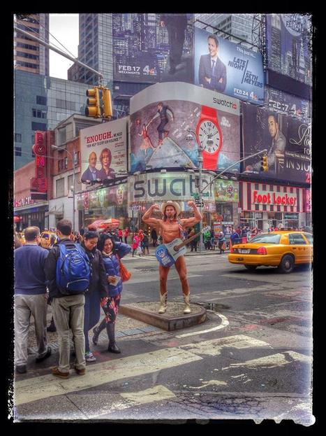 Naked Cowboy success and sillyness in the big apple - Street I Am | Street Art Marketing | Scoop.it