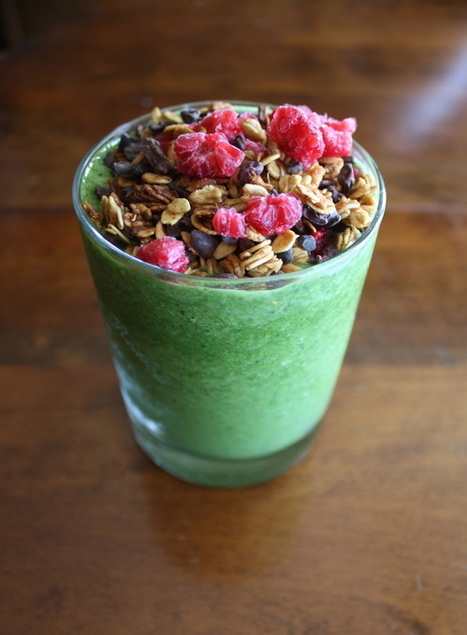 The Truth on Raw Cacao // Super Green Breakfast Smoothie | Fitness | Scoop.it