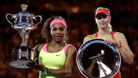 Serena Williams Beat Maria Sharapova For The 17th Straight Time. But Serena Still Makes Less Money. | Women of The Revolution | Scoop.it