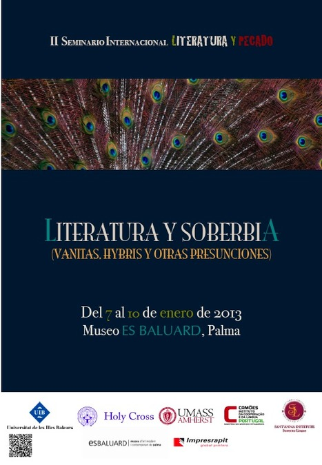 "II SEMINARIO INTERNACIONAL ""LITERATURA Y PECADO"" - Universitat de les Illes Balears | The UMass Amherst Spanish & Portuguese Program Newsletter | Scoop.it"