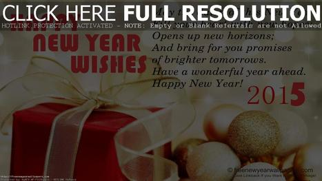 Happy New Year Wishes 2015 Wallpaper | New Year Wallpapers | High Definition Wallpapers (HD Wallpapers 1080p) | Scoop.it