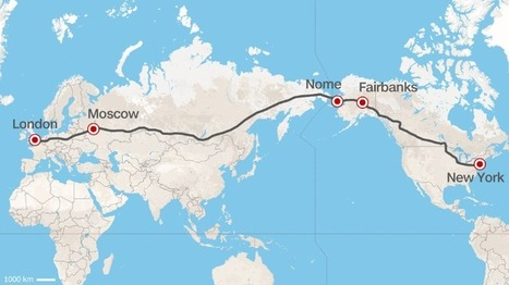 Road from Europe to U.S.? Russia proposes superhighway | Masada Geography | Scoop.it