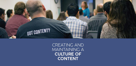 How to Create and Maintain a Culture of Content Marketing   Online and SoMe Marketing   Scoop.it