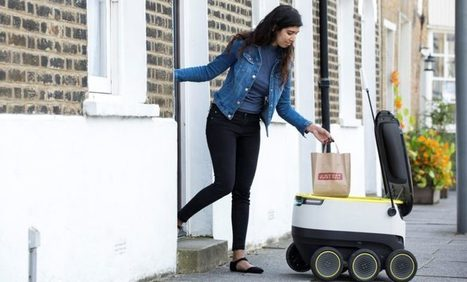 Just Eat and Starship Technologies to power food delivery in London with self-drivingrobots | Delivery | Scoop.it