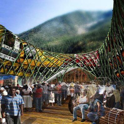 BAMBOO construction for Haiti wins Foster + Partners Prize 2013 | The Architecture of the City | Scoop.it