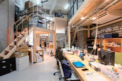 Always under construction—Rhizomatiks' new office | Interactive New Media project & Artist | Scoop.it