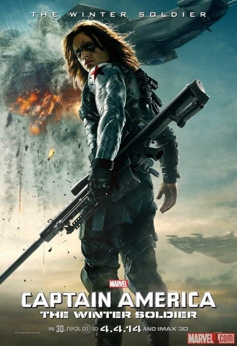 Watch Captain America: The Winter Soldier Full Movie Online ~ Captain America II Death Too Soon | Beautiful things to make | Scoop.it