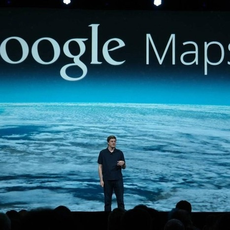 New Google Maps Looks Spectacular | teaching with technology | Scoop.it